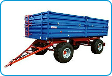 Spare parts for trailers